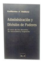 Administración y División de Poderes