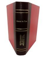 Instituciones de Derecho Procesal Civil.