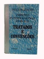 Direito Internacional Público Tratados e Convenções