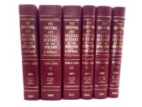 The Constitutional and Political History of the United States 8 Vol.
