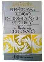 Subsídio Para Redação de Dissertação de Mestrado e Tese de Doutorado