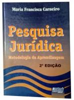 Pesquisa Jurídica Metodologia da Aprendizagem