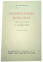 Instituciones Romanas 2ª Ed.