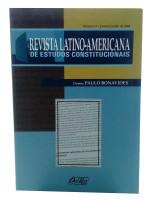 REVISTA LATINO AMERICANA DE ESTUDOS CONSTITUCIONAIS Vol. 3