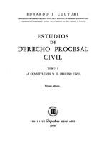Estudios de Derecho Procesal Civil 3 vol.