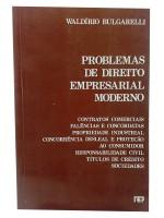 Problemas de Direito Empresarial Moderno