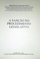 A Sanção no Procedimento Legislativo