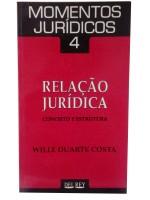 Momentos Jurídicos 4 Relação Jurídica conceito e Estrutura