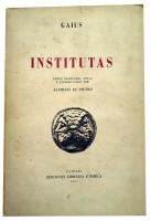 Institutas de Gaius