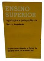 Ensino Superior Legislação e Jurisprudência Vol I