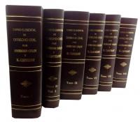 Curso Elemental de Derecho Civil 9 Vol.