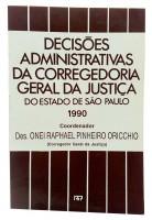Decisões Administrativa da Corregedoria Geral da Justiça do Estado de São Paulo