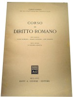 Corso di Dirrito Romano.