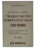 IMPOSTO DE RENDA TRIBUTACAO SIMPLIFICADA
