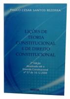 Lições de Teoria Constitucional e de Direito Constitucional