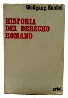 História del Derecho Romano