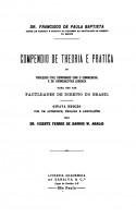 Compêndio de Theoria e Prática do Processo Civil Comparado