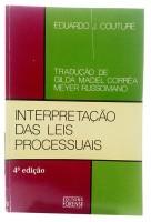 Interpretação das Leis Processuais