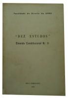 Dez Estudos Emenda Constitucional nº 11