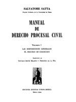 Derecho Procesal Civil 3 Vol.