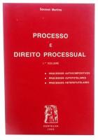 Processo e Direito Processual 1º Volume