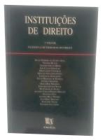Instituições de Direito volume 1