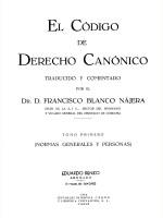 EL CODIGO DE DERECHO CANONICO